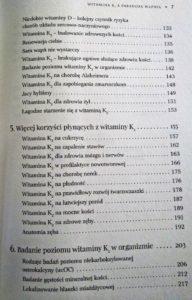 Witamina K2 i paradoks wapnia spis treści cz.3