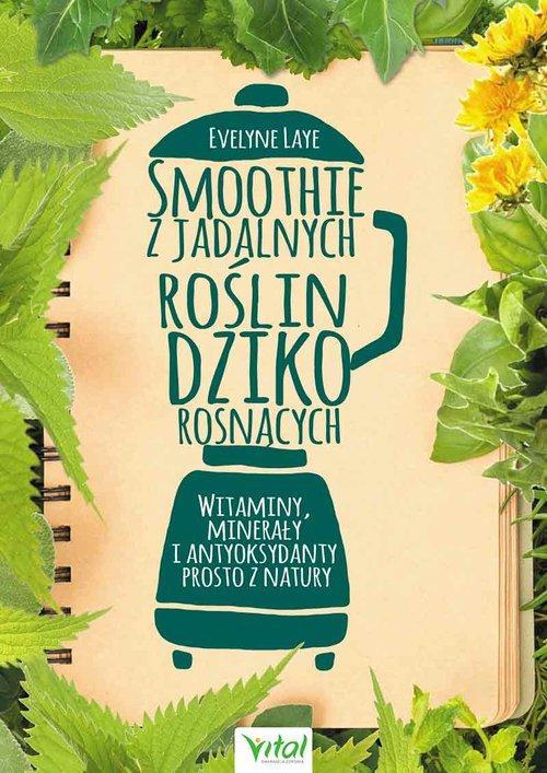 Książki z jadalnych roślin dziko rosnących okładka