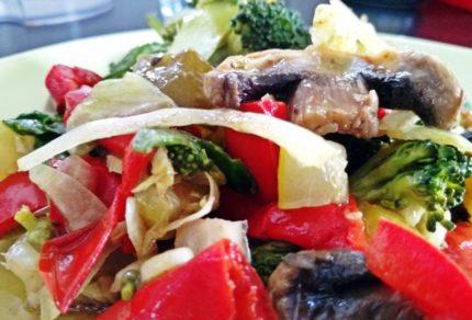Wiosennie, bo sałatkowo zdrowa salatka