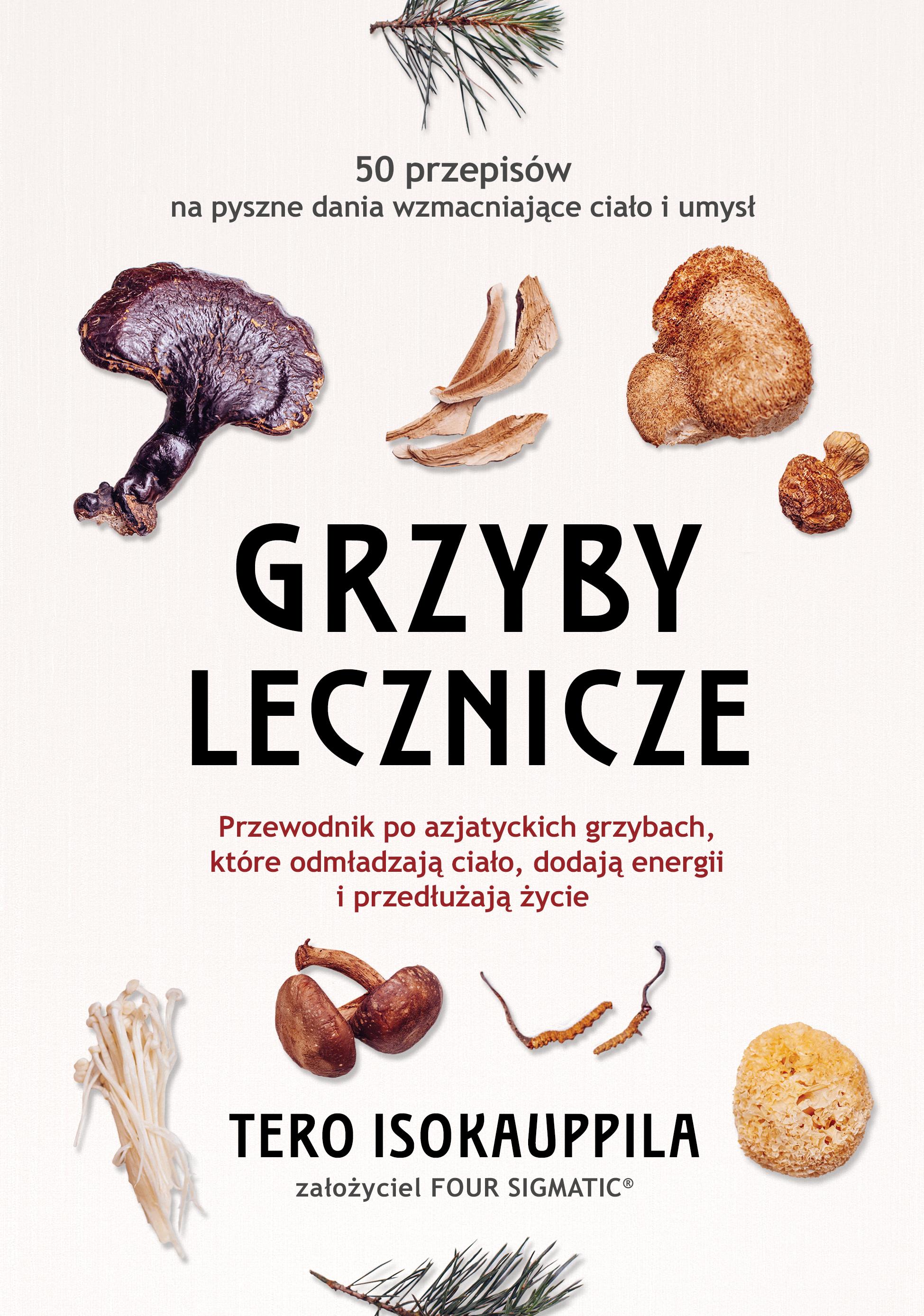 okładka książki lecznicze grzyby